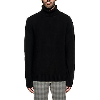 Become men's 5873749 black Wool Sweater