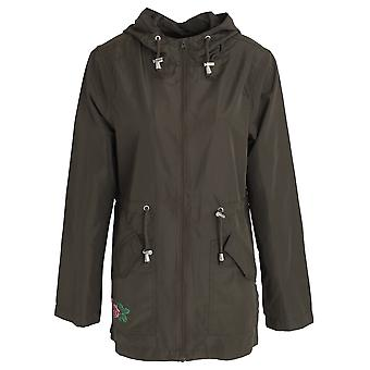 Brave Soul Womens/Ladies Cinta Full Zip Hooded Jacket