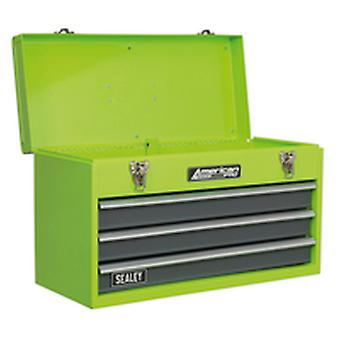 Sealey Ap9243Bbhv Tool Chest 3 Drawer Portable With Ball Bearing Runners