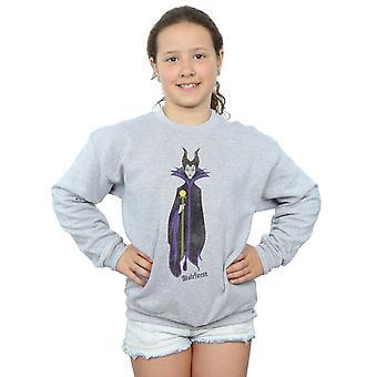 Disney Girls Sleeping Beauty Classic Maleficent Sweatshirt