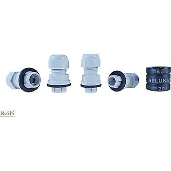 Cable gland M20 Polyamide Silver-grey (RAL 7001)