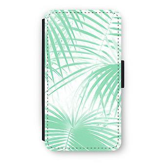 Samsung Galaxy A3 (2016) Case Flip - folhas de palmeira