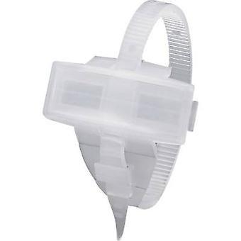 Badge with cable tie Mounting type: Cable tie Writing area: 29 x 8 mm Suited f