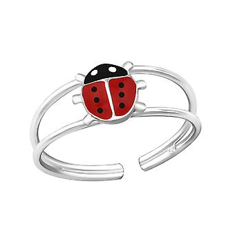 Lady Bug - 925 Sterling Silver Rings