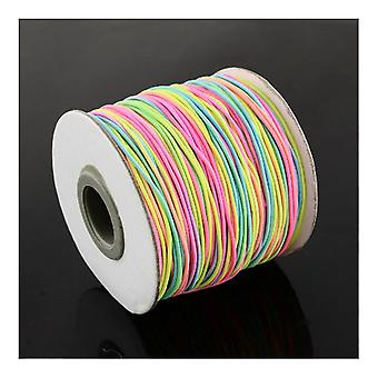 1 x Mixed Elastic 10m x 1mm Thong Cord Continuous Length Y04660