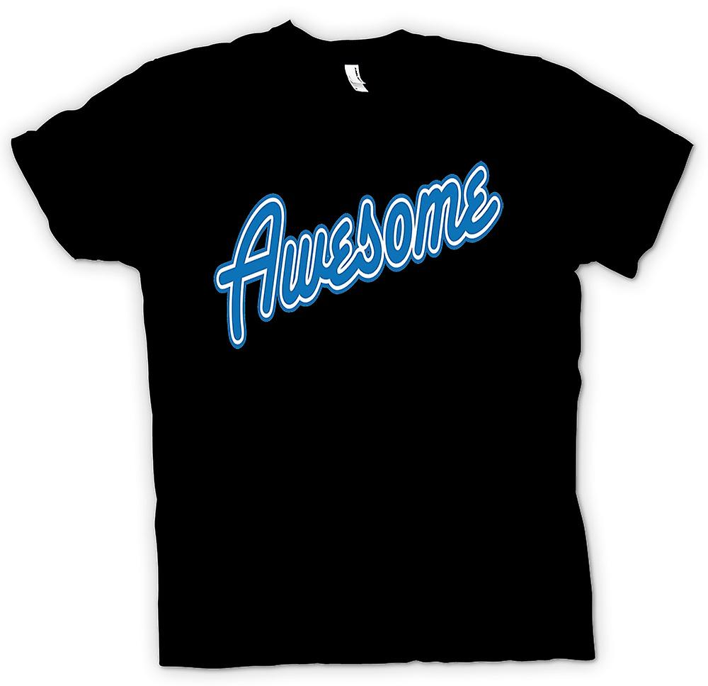 Mens T-shirt - Awesome - Quote