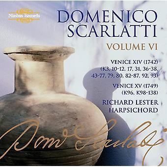 A. Scarlatti - Domenico Scarlatti: The Complete Sonatas, Vol. 6 - Venice Xiv & Xv [CD] USA import