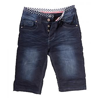 Men's Jogging Denim Jeans Pants Shorts Pants Slim Boxer Jeans Stone Washed Used
