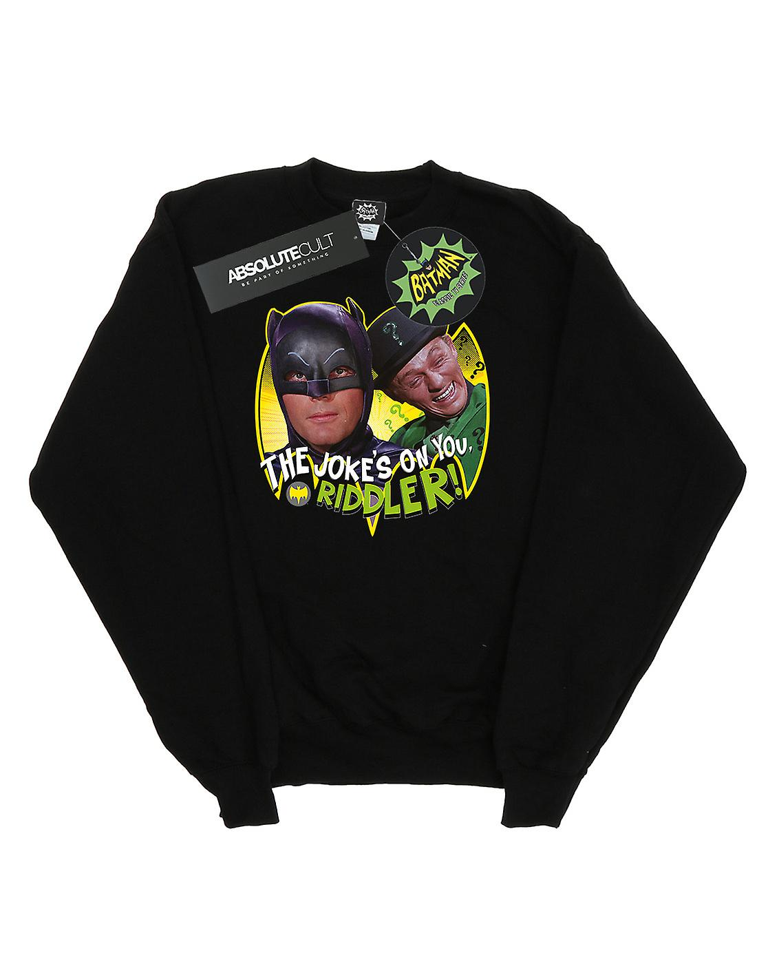 DC Comics Boys Batman TV Series The Riddler Joke Sweatshirt
