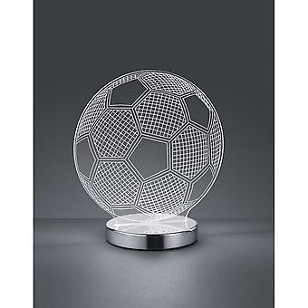 Трио, освещение лампа мяч весело Хром металлический стол