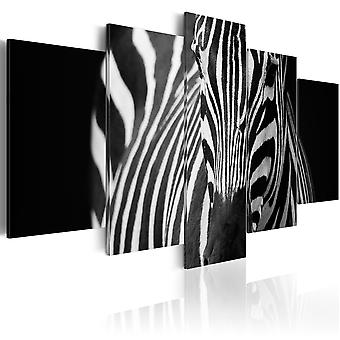 Canvas Print - Zebra look