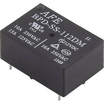 AFE BPD-SS-124DM PCB relay 24 Vdc 16 A 1 maker 1 pc(s)