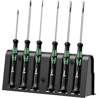 Electrical & precision engineering Screwdriver set 6-piece Wera 2035/6 B Slot, Phillips