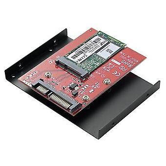 GBIC [1 x mSATA socket - 1 x SATA plug 22-pin] Renkforce
