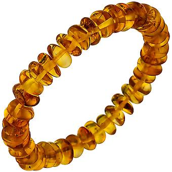 Янтарный браслет браслет Янтарный бесконечные и гибкие