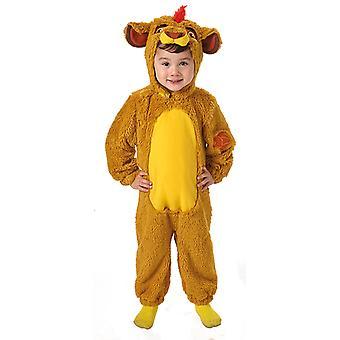 Furry KION vakt løven drakt barn drakt
