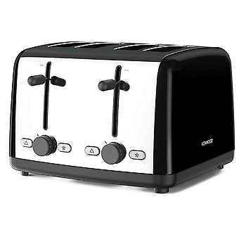 Kenwood TTM480.BK Black Scene 1800w 4 Slice Wide Toaster