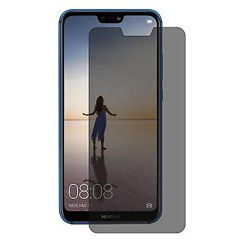 Huawei P20 Lite look protective tank protection glass anti-spy film 9 H - 2 pieces