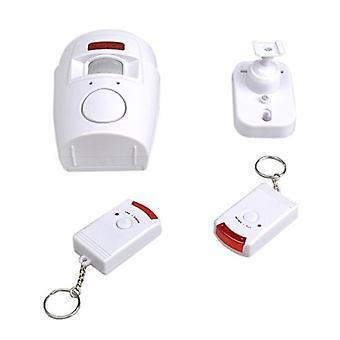 TRIXES Battery Powered Motion Sensing Alarm and Remotes for Garden Sheds and Caravans