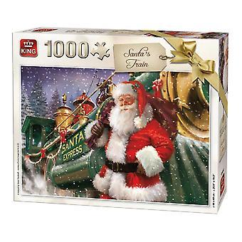 Króla Mikołaja kolejowego Jigsaw Puzzle (1000 sztuk)