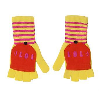 LOL Flap gloves yellow