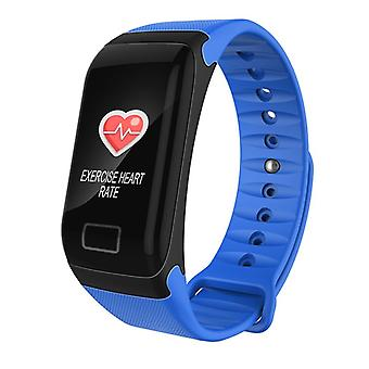 F1 Plus WearFit Activity bracelet with Color-Blue