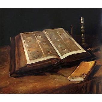 Still Life with Bible, Vincent Van Gogh, 65x78cm