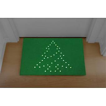 Polarlite PDE-05-002 LED decorative lighting Christmas Tree (doormat) Green LED Green
