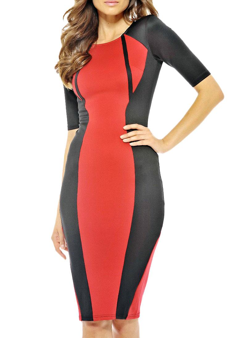 Waooh - Fashion - Midi Dress bicolor