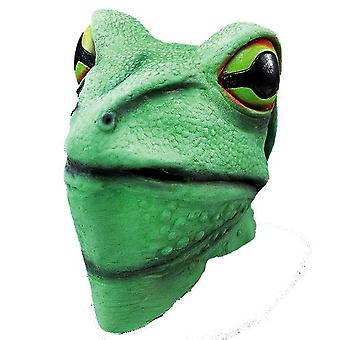 Frog Mask. Rubber Overhead.