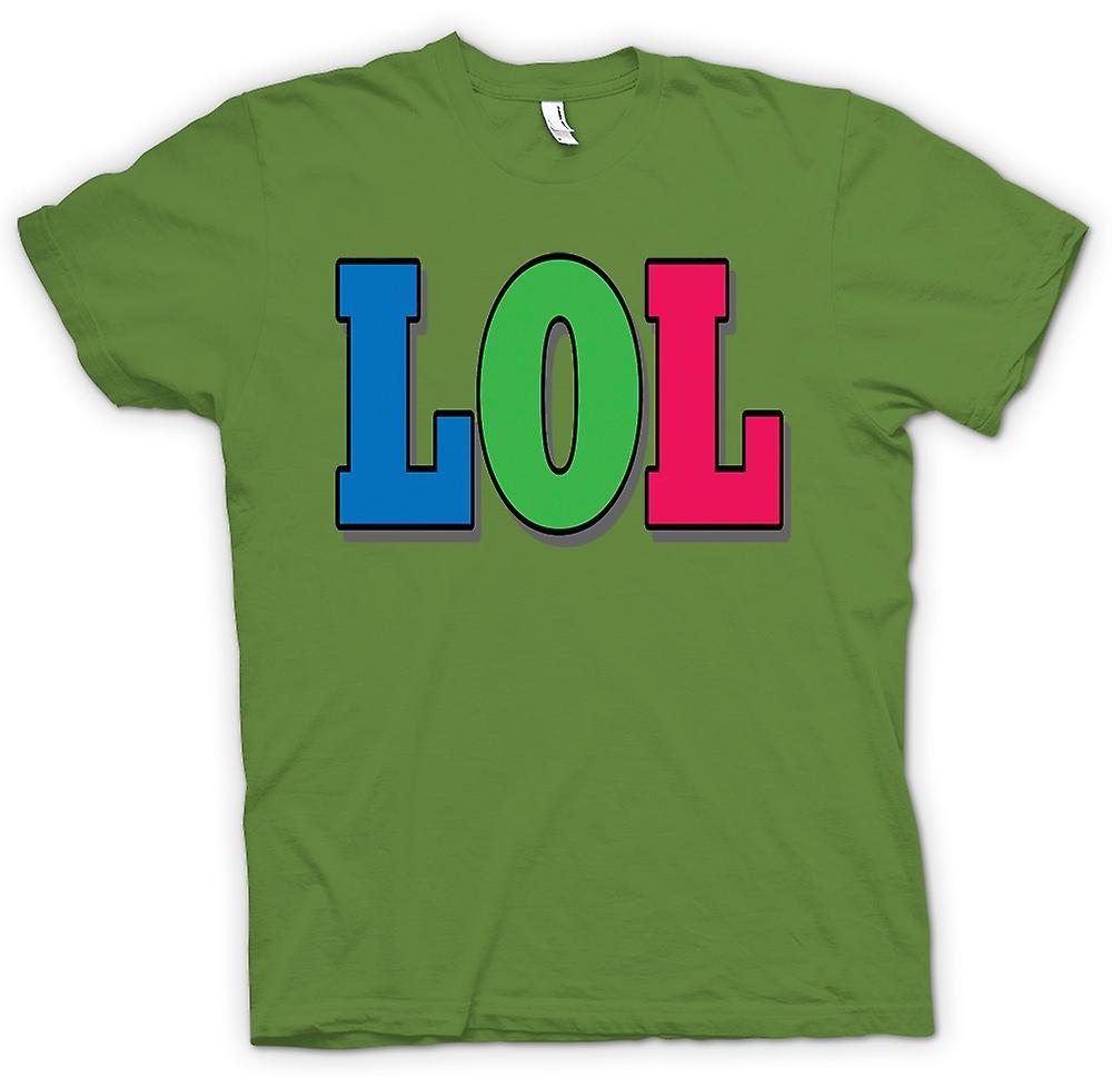 Mens t-skjorte - Lol - Funny