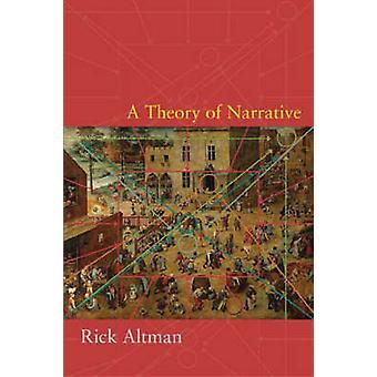 Eine Theorie der Erzählung von Rick Altman - 9780231144292 Buch