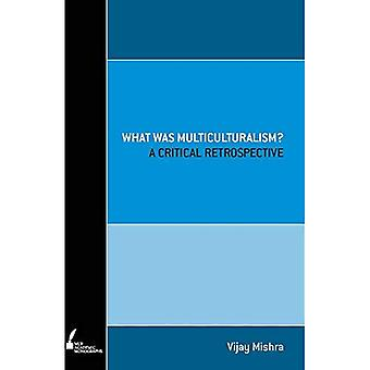 What was Multiculturalism?: A Critical Retrospect