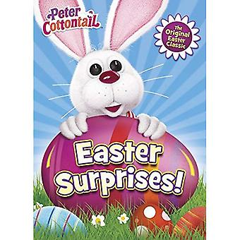 Easter Surprises! (Deluxe Coloring Book) (Peter Cottontail)