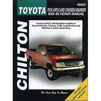 Toyota Land Cruiser and 4-runner: 1993 to 1996 (Chilton Total Car Care Automotive Repair Manual)