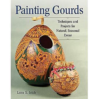Schilderij kalebassen: Technieken en projecten voor natuurlijke, seizoensgebonden Decor