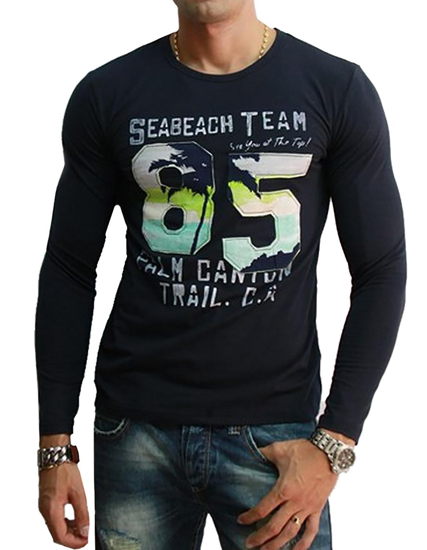 Waooh - T-Shirt Long Sleeve Style Californian Woki