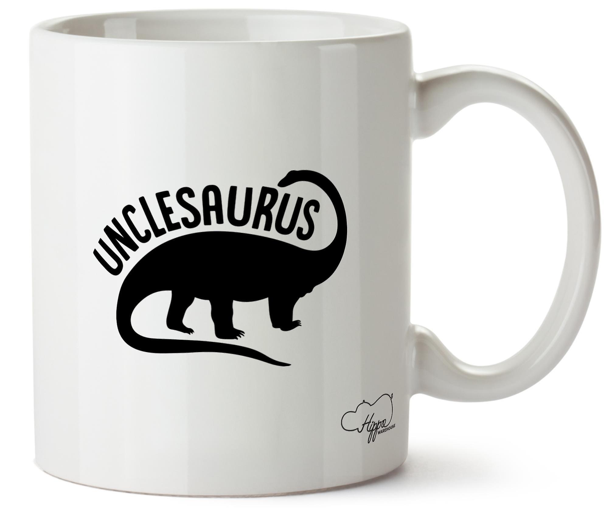 En Imprimé Unclesaurus Céramique Hippowarehouse Tasse 10oz 8wOPkn0XN