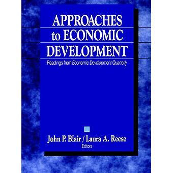 Approcci per lo sviluppo economico letture dallo sviluppo economico trimestrale di Blair & John P.