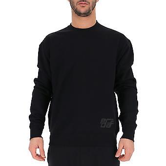 Prada Black Polyurethane Sweater
