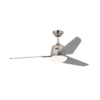 "Tak fläkt Eco Aviatos 132cm/52 ""BN blad Silver"