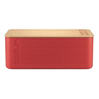 Bodum Bistro - Bread Bin and Bread Board - Plastic and Bamboo - Various Colours