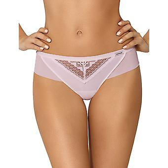 Nipplex Women's Theo Heather Pink Knickers Panty Full Brief