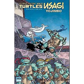 Teenage Mutant Ninja Turles Usagi Yojimbo Hardcover Edition by Stan S
