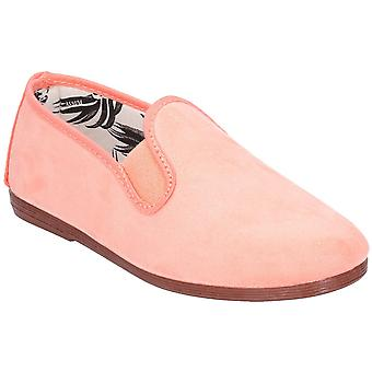 Flossy Girls Junior Crack Slip On Casual Summer Pump Shoes