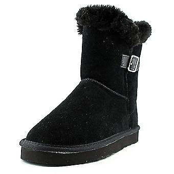 Style & Co. Womens Tiny 2 Leather Closed Toe Mid-Calf Cold Weather Boots