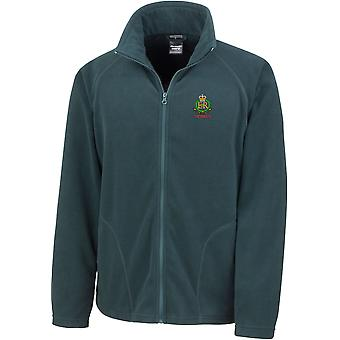 Royal Military Police Veteran - Licensed British Army Embroidered Lightweight Microfleece Jacket