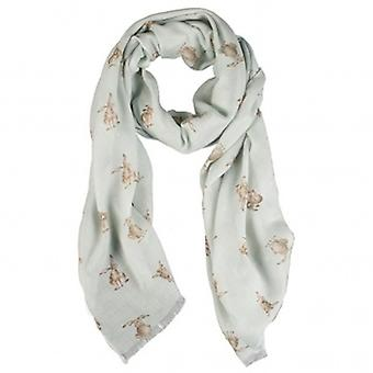 Wrendale Designs Leaping Hare Scarf