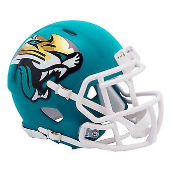 Riddell Speed Mini Football Helm - AMP Jacksonville Jaguars