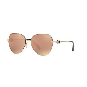 Bvlgari BV6108 20144Z Pink Gold/Grey Mirror Rose Gold